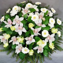 White Funeral composition