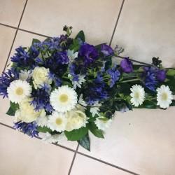Funeral arrangement with...