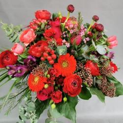Flower bouquet Red dream