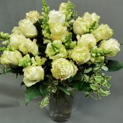 Flower bouquet - white...