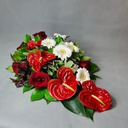 Funeral arrangement Red Kallas