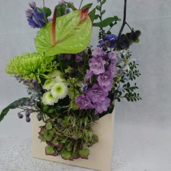 Flower box Letter