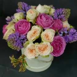 Flower box Rose softness