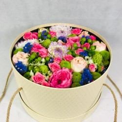 Flower box Autumn colours