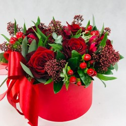Flower box Red passion