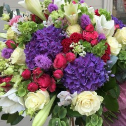 Premium summer flower bouquet