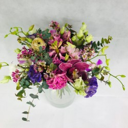 Colorful flower mix