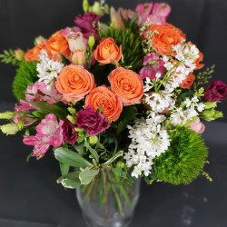 Bouquet of flowers with...