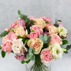Charm of light roses