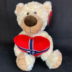 Teddy bear with a heart