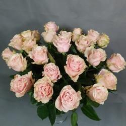 Gentle pink roses 40/60cm