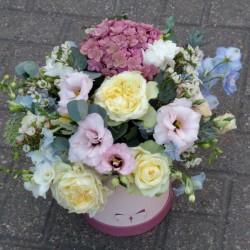 Цветочная корзина Романтика