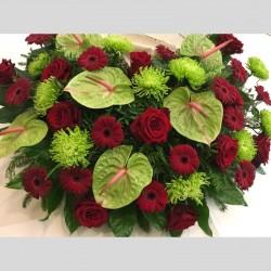 Memorial Wreath in Green...