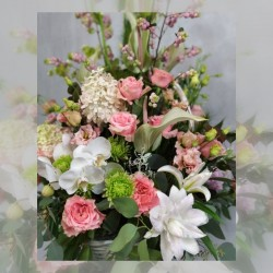 Rich flower basket