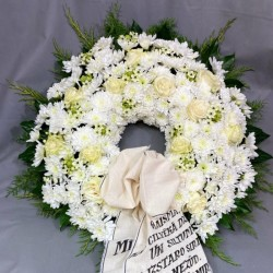 Funeral Wreath Oasis, 65cm