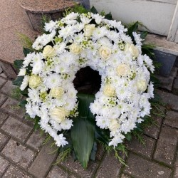 Funeral Wreath Oasis, 80cm