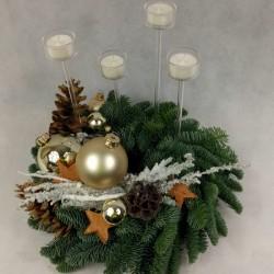 Advent wreath Elegance