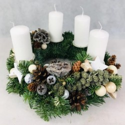 Advent wreath Blessing,...