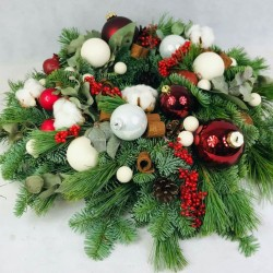 Advent wreath without candles