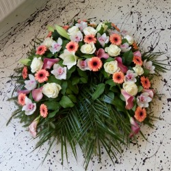 Memorial wreath with...